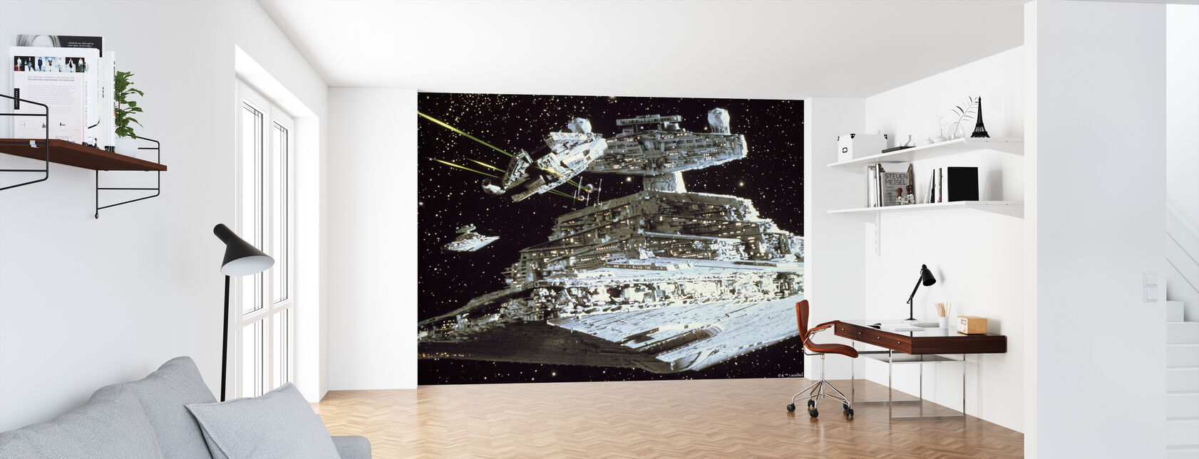 Tähtien sota - Millennium Falcon hyökkäys - Tapetti - Toimisto