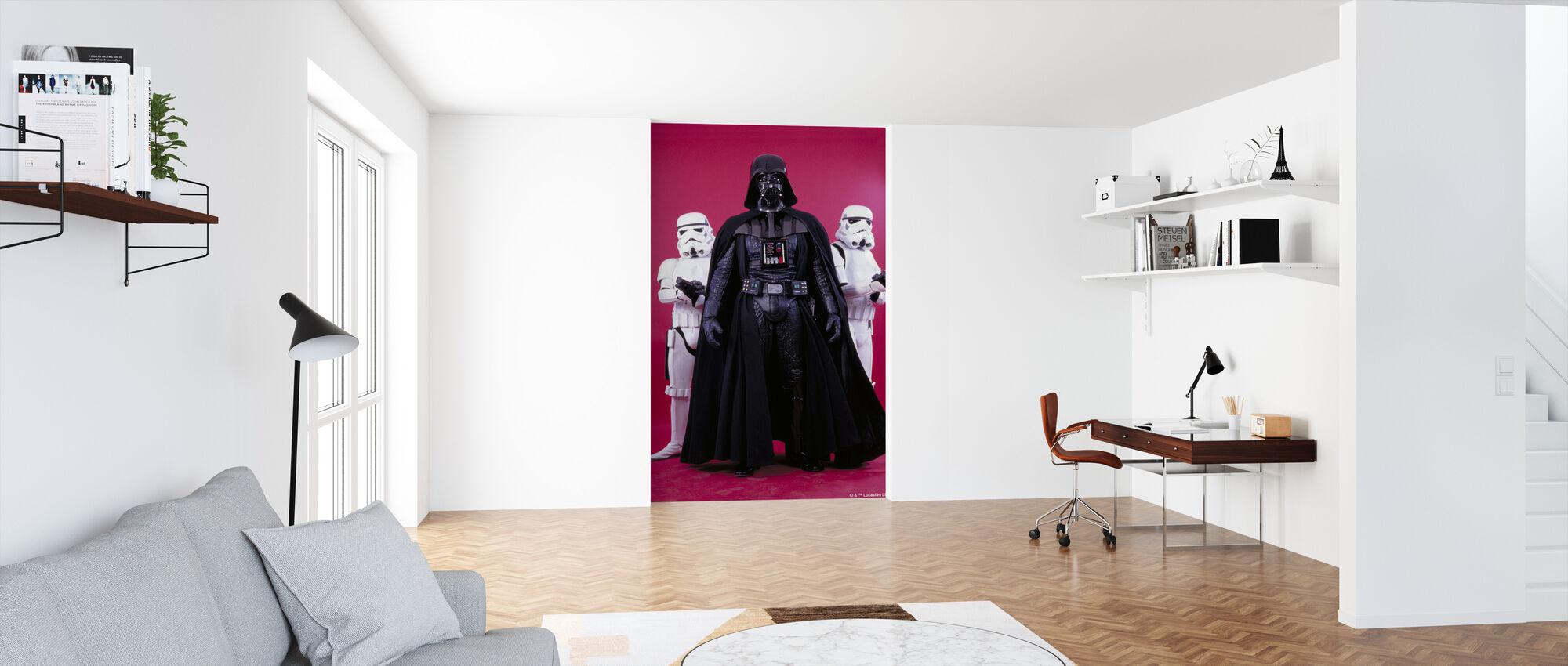 Star Wars - Darth Vader Stormtroopers - Tapet - Kontor