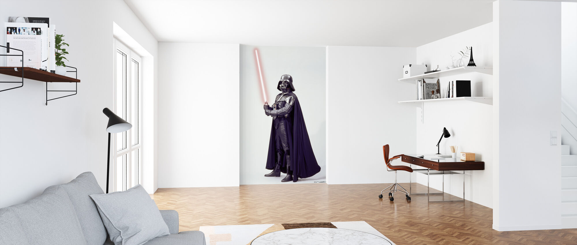 Star Wars - Darth Vader Lightsaber 1 - Tapet - Kontor