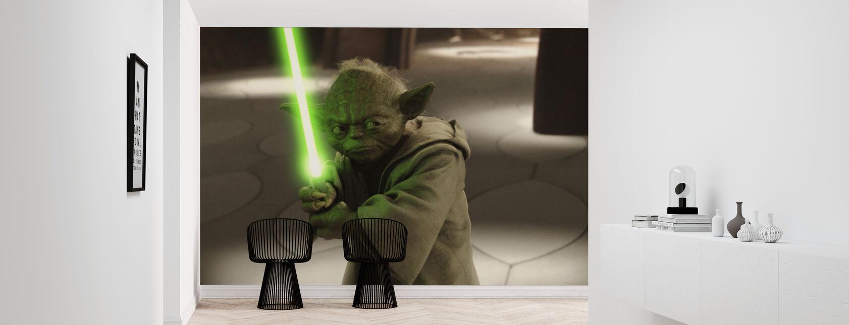 Tähtien sota - Yoda Geonosis Secret Hangar - Tapetti - Aula