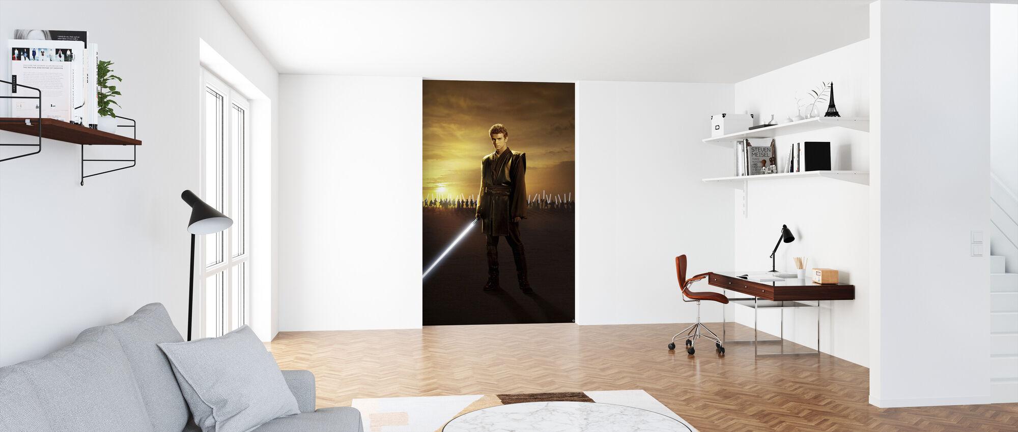 Star Wars - Anakin Skywalker Sunset - Tapetti - Toimisto