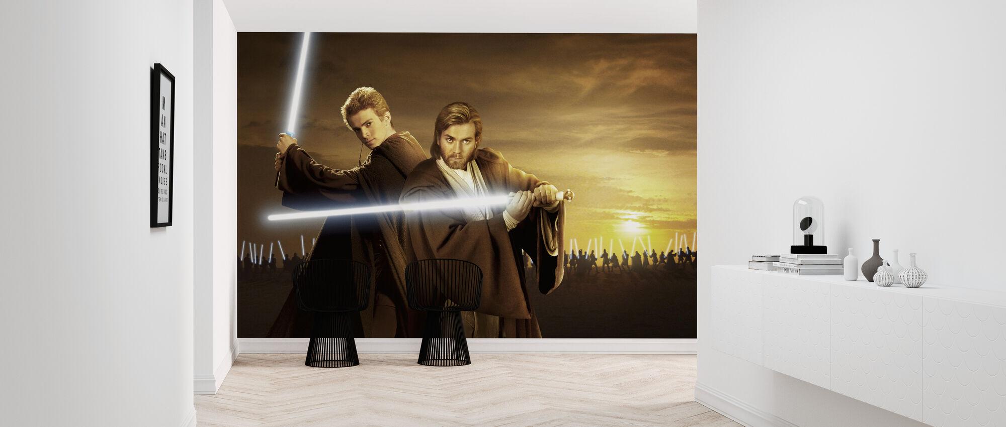 Star Wars - Anakin ja Obi-Wan Sunset - Tapetti - Aula