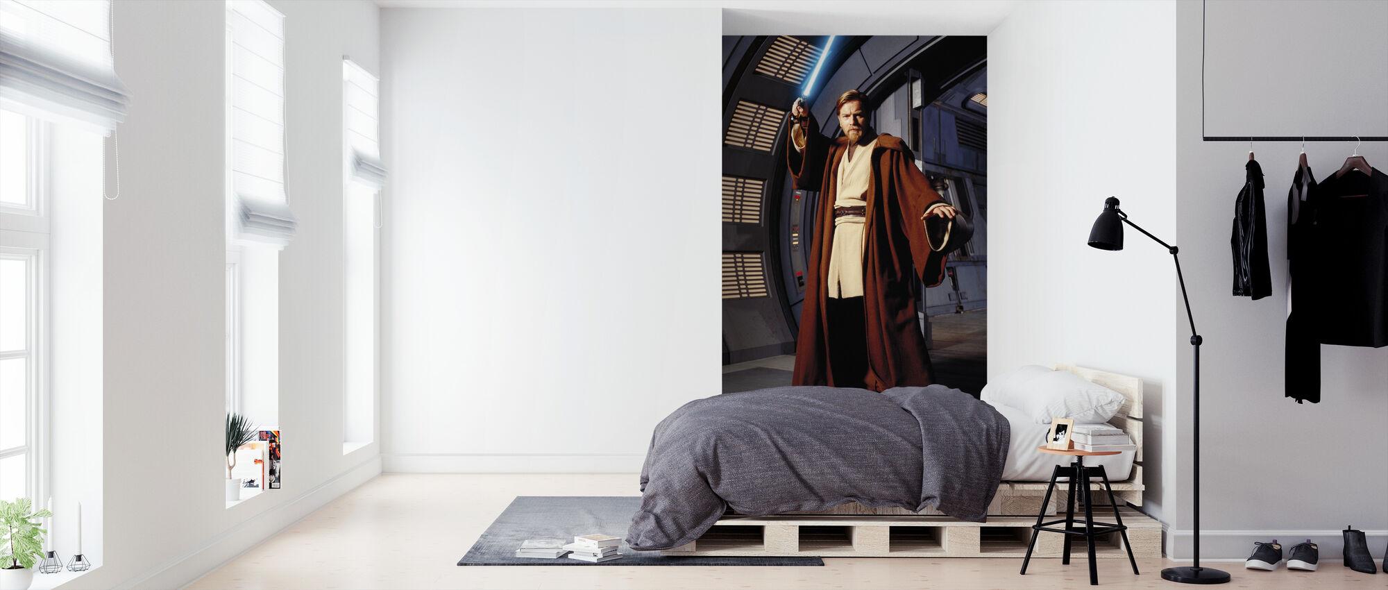 Star Wars - Obi-Wan Cruiser bro - Tapet - Soverom