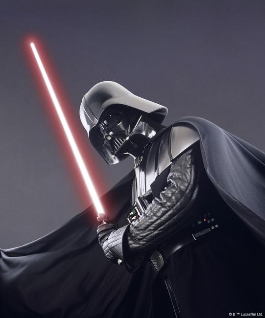 Star Wars - Darth Vader Studioshoot 3 Fototapeter & Tapeter 100 x 100 cm