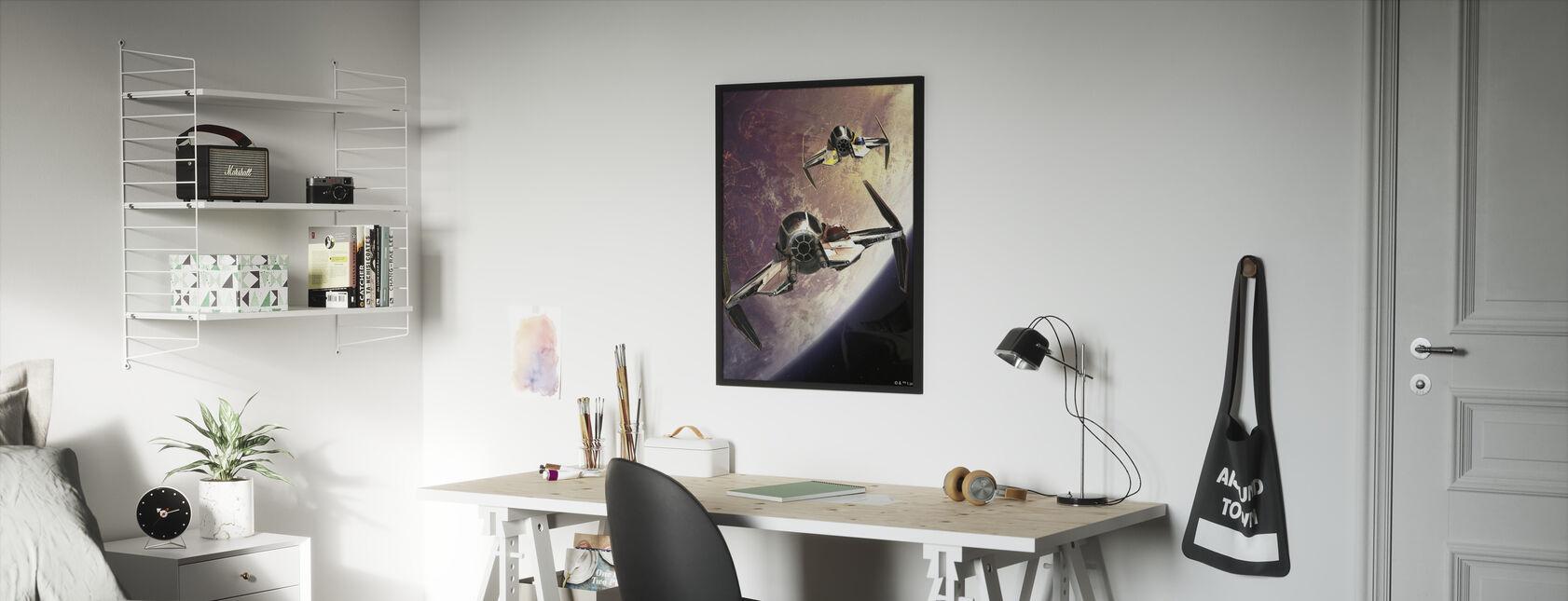 Tähtien sota - Tähtitaistelijat yli Planeetat 2 - Kehystetty kuva - Lastenhuone