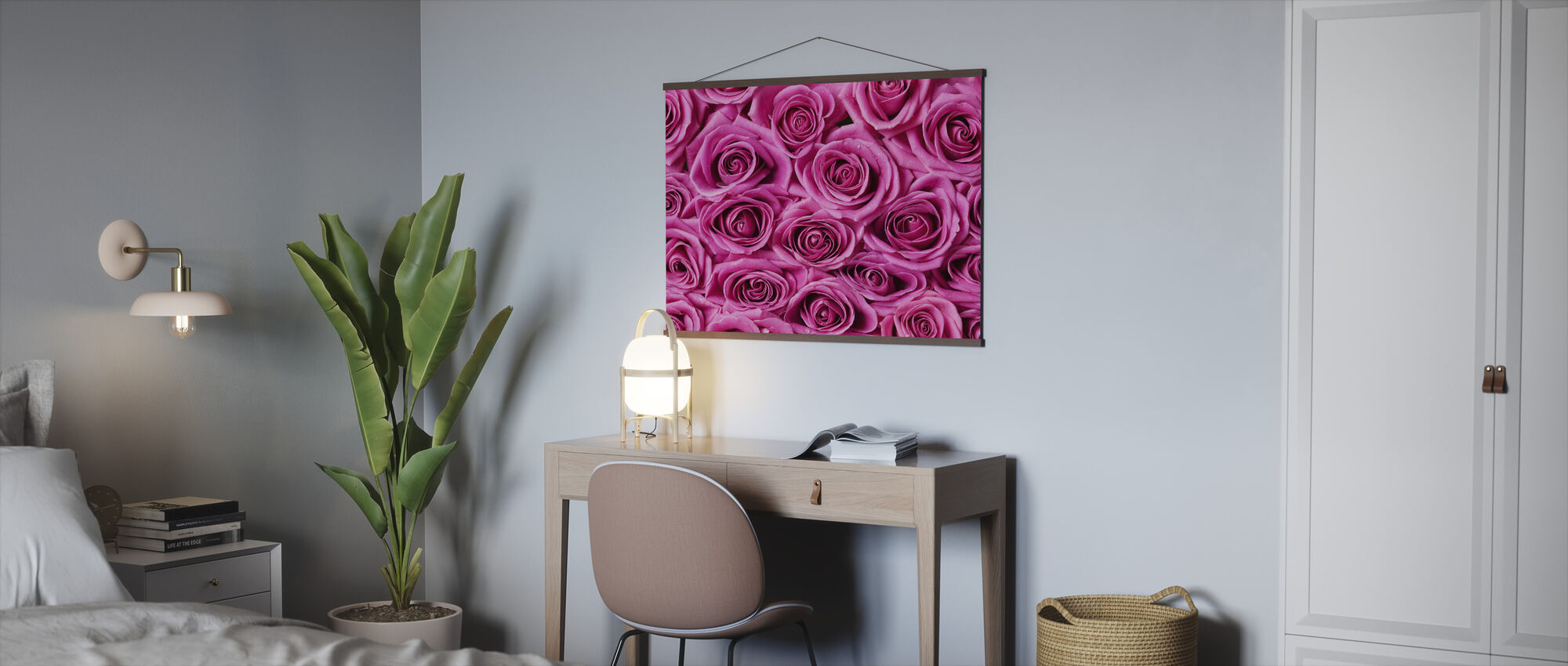 Roses - Pink - Poster - Office