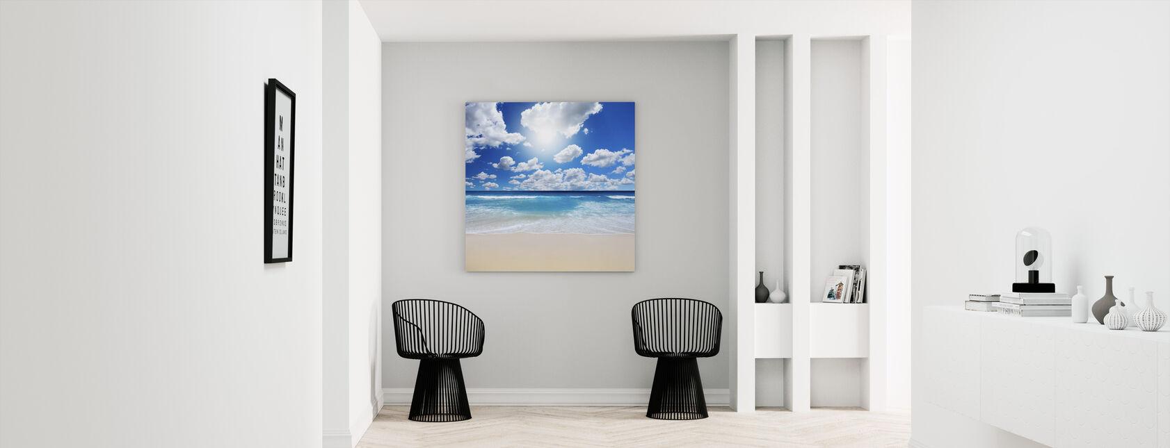Summertime at the Beach - Canvas print - Hallway