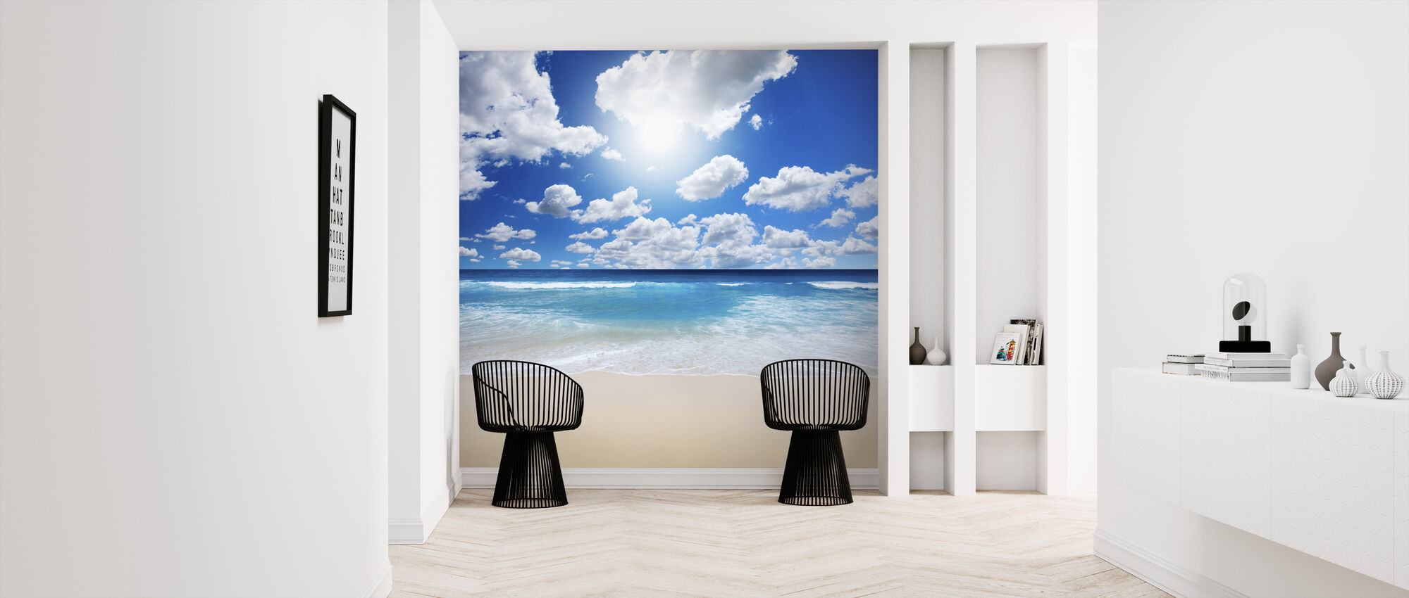 Summertime at the Beach - Wallpaper - Hallway