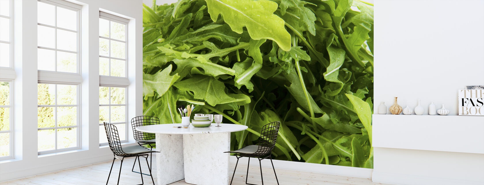 Fresh Ruccola - Wallpaper - Kitchen