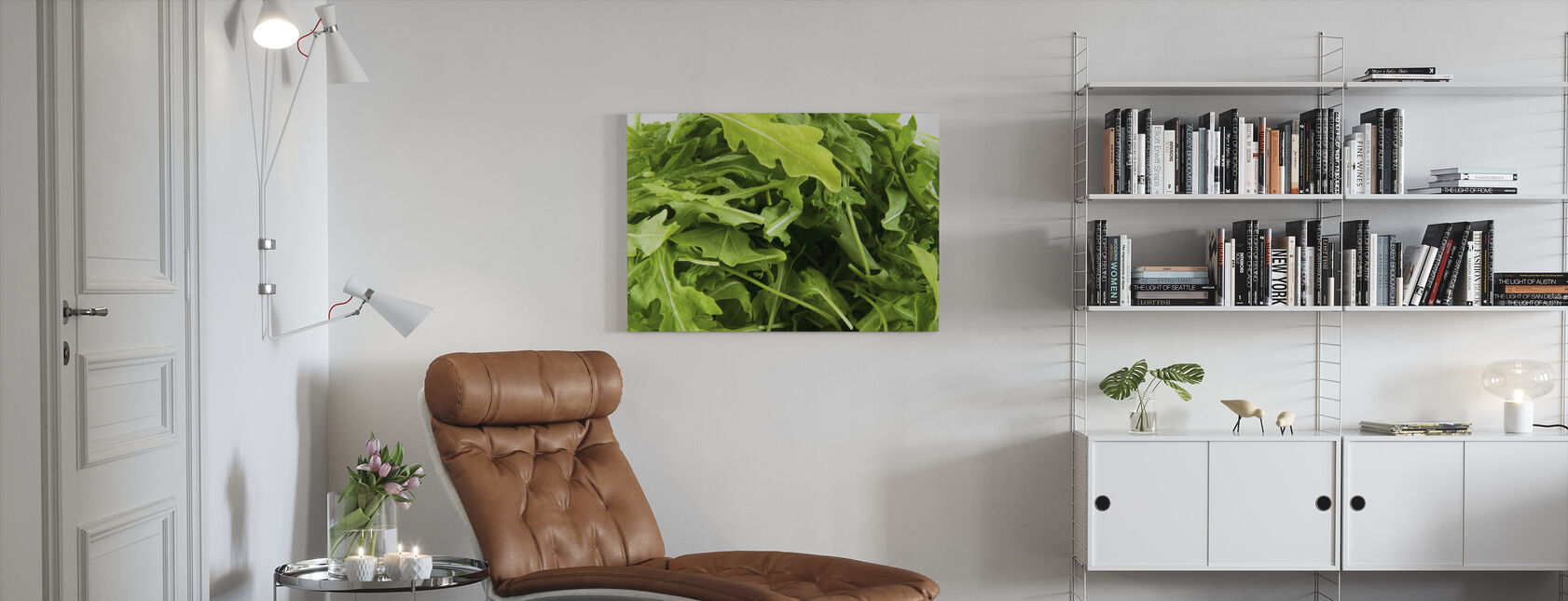 Fresh Ruccola - Canvas print - Living Room