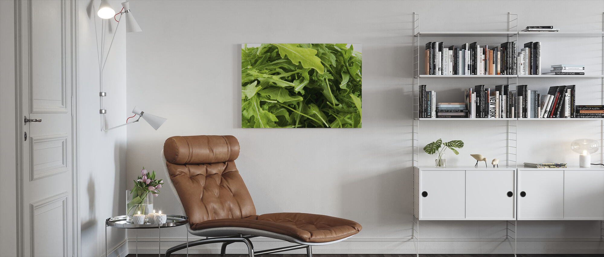Verse Ruccola - Canvas print - Woonkamer