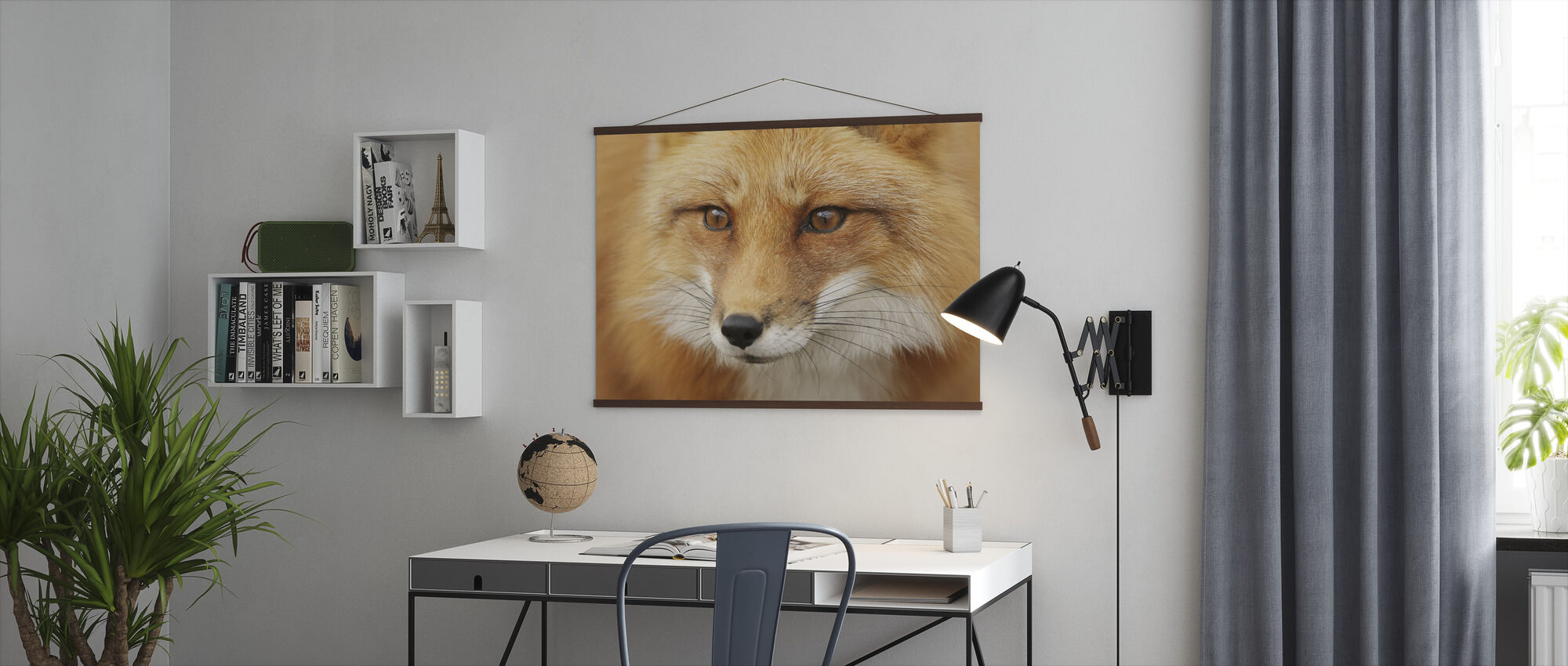 Red Fox - Poster - Office