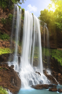 Fototapet - Waterfall in Rain Forest