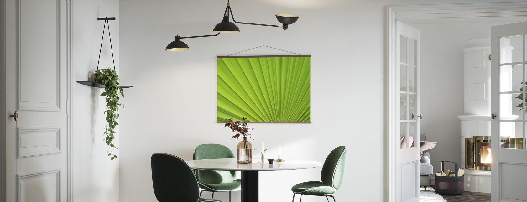 Palm Leaf Detail - Poster - Kitchen