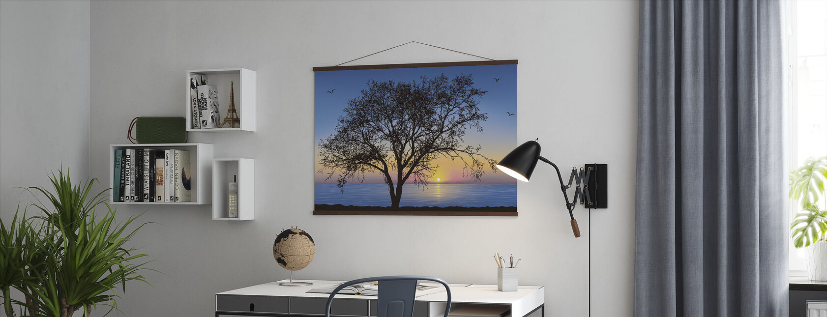 Tree Silhouette - Poster - Office
