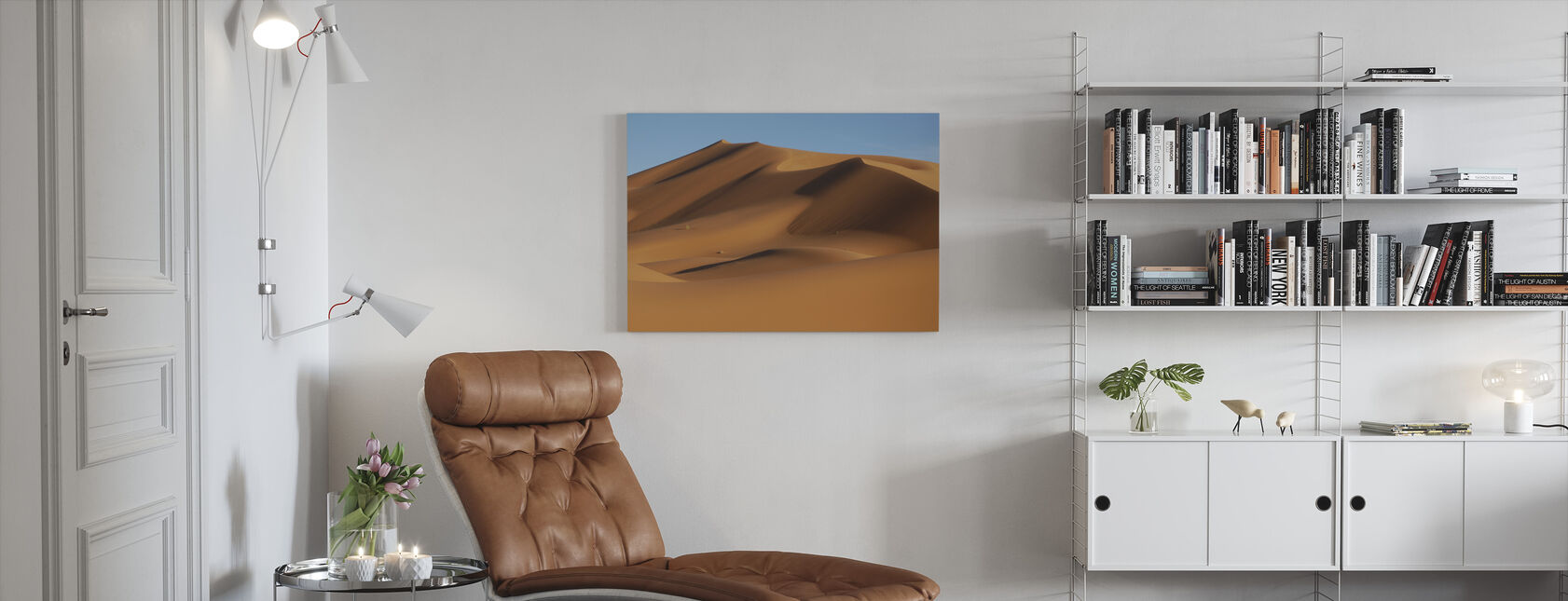Sahara Desert - Canvas print - Living Room