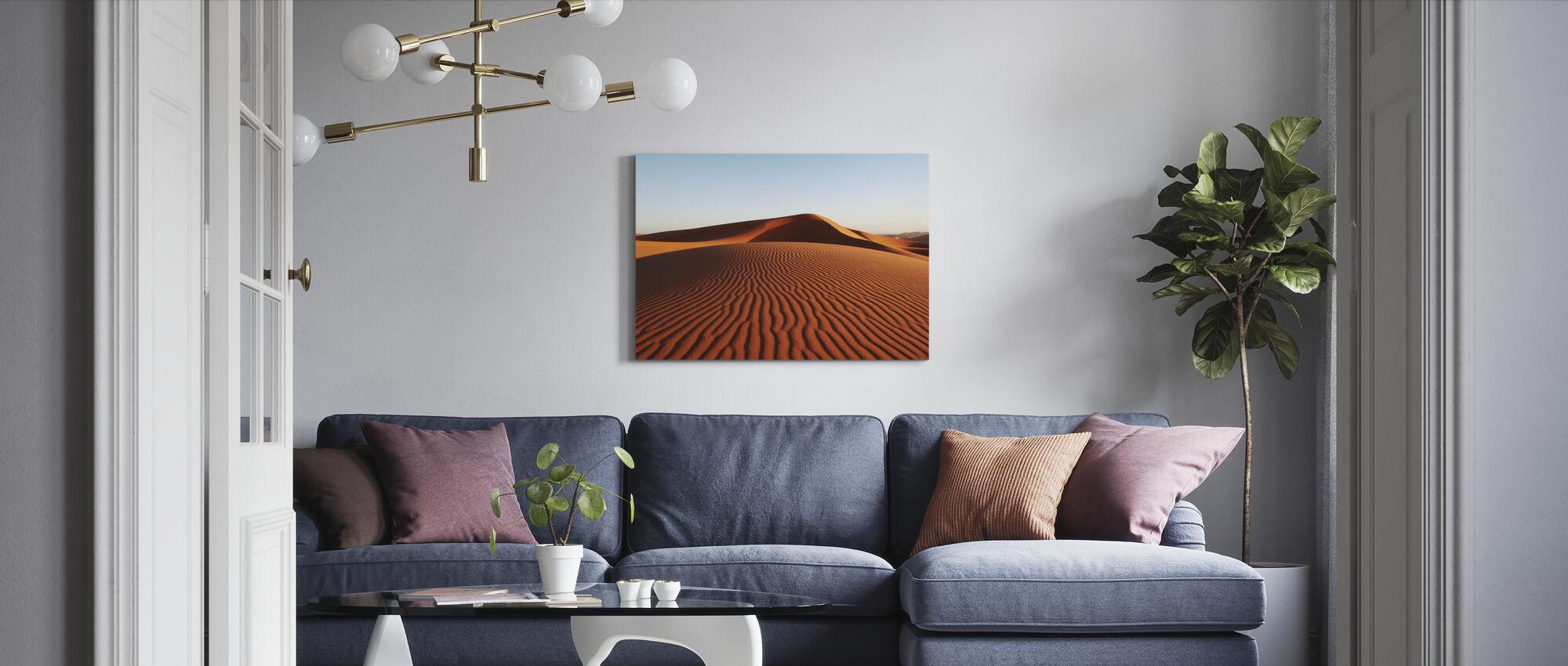 Hiekka aavikko - Canvastaulu - Olohuone