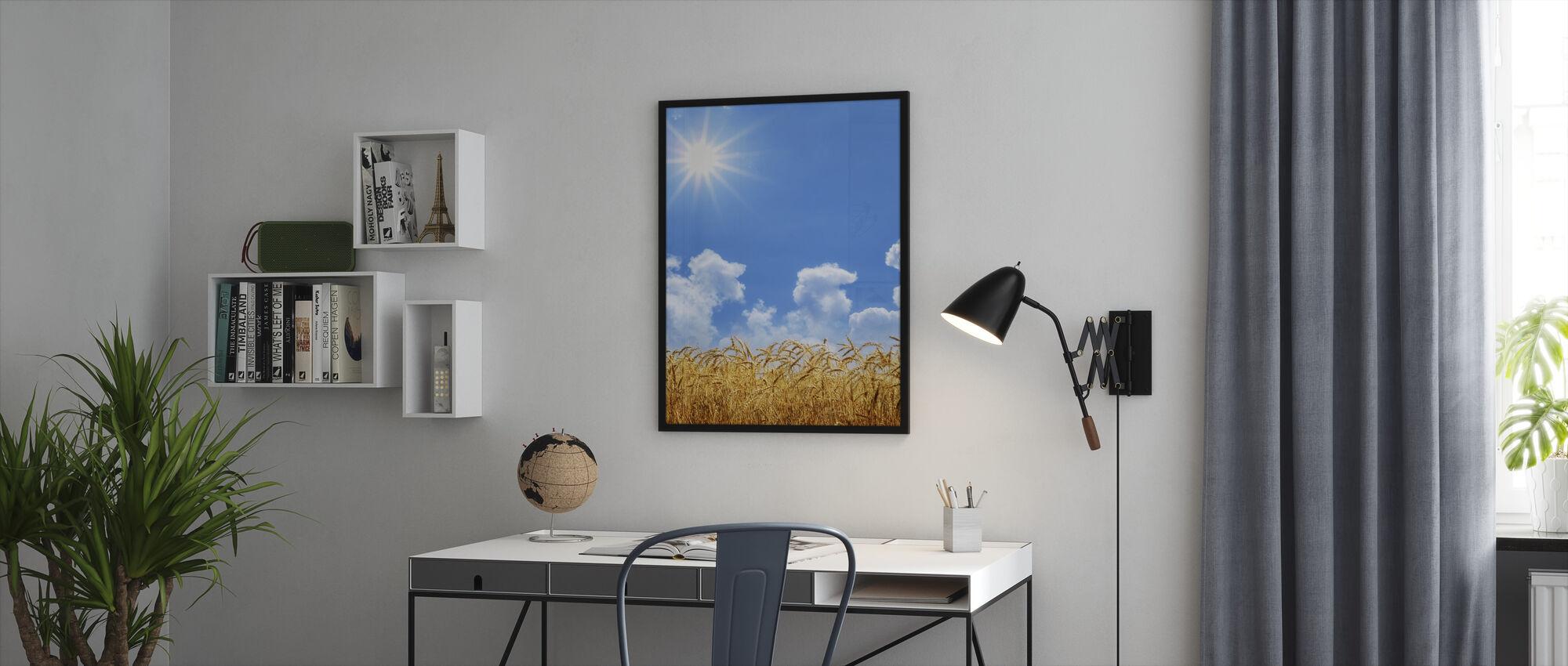 Kulta Vehnä - Kehystetty kuva - Toimisto