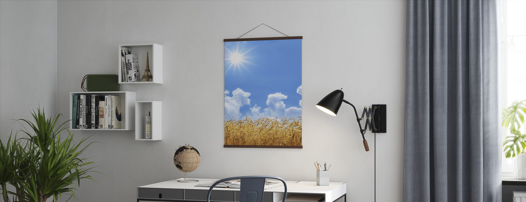 Gold Wheat - Poster - Office