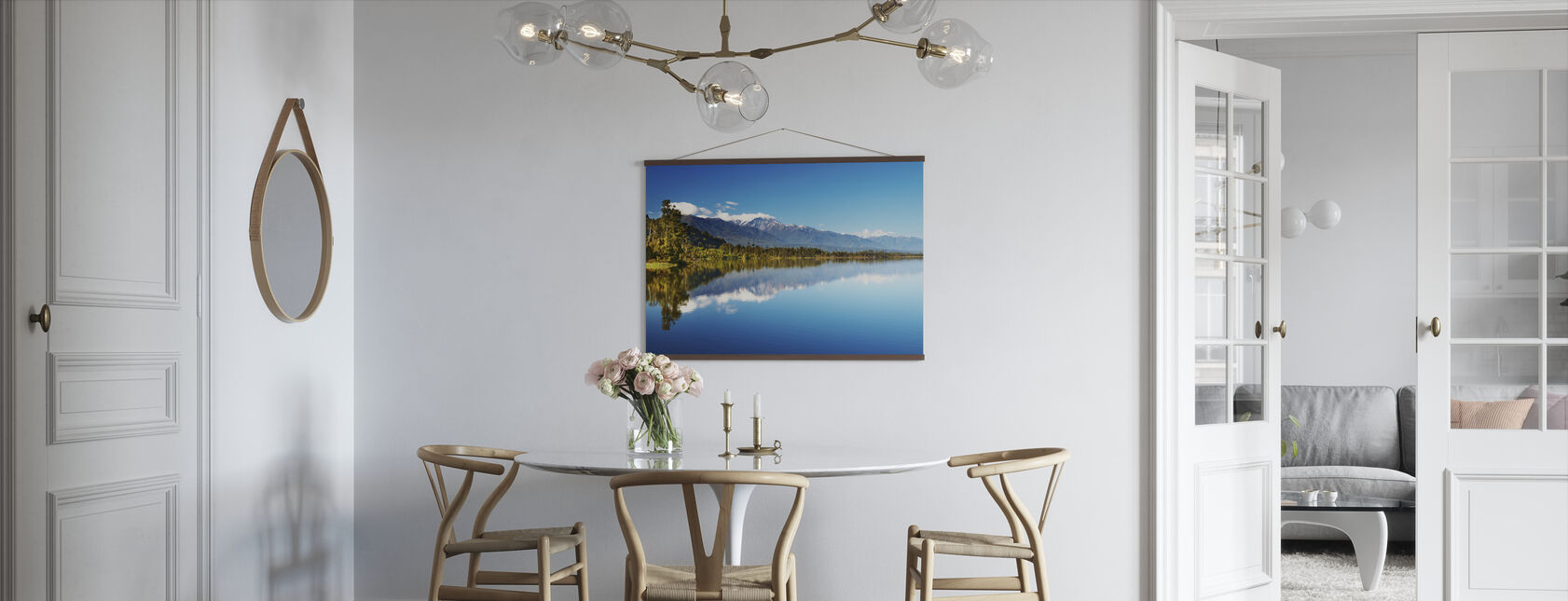Beautiful lake, New Zealand - Poster - Kitchen