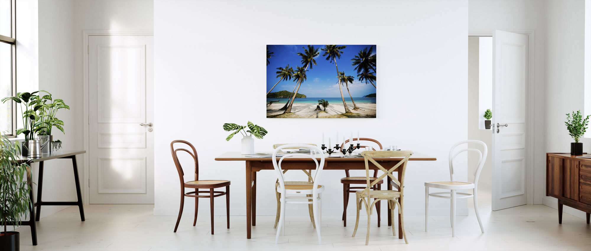 Coconut Palms, Thailand - Canvas print - Kitchen