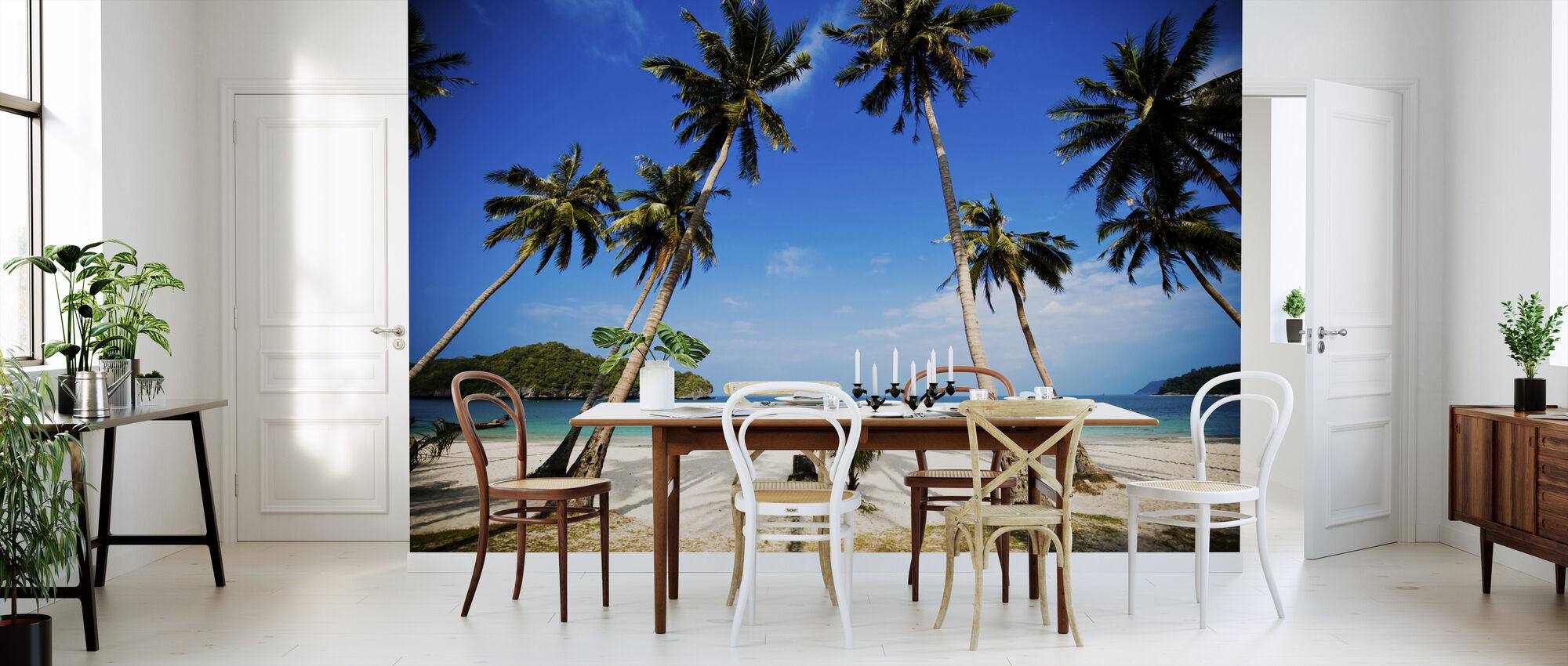 Coconut Palms, Thailand - Wallpaper - Kitchen