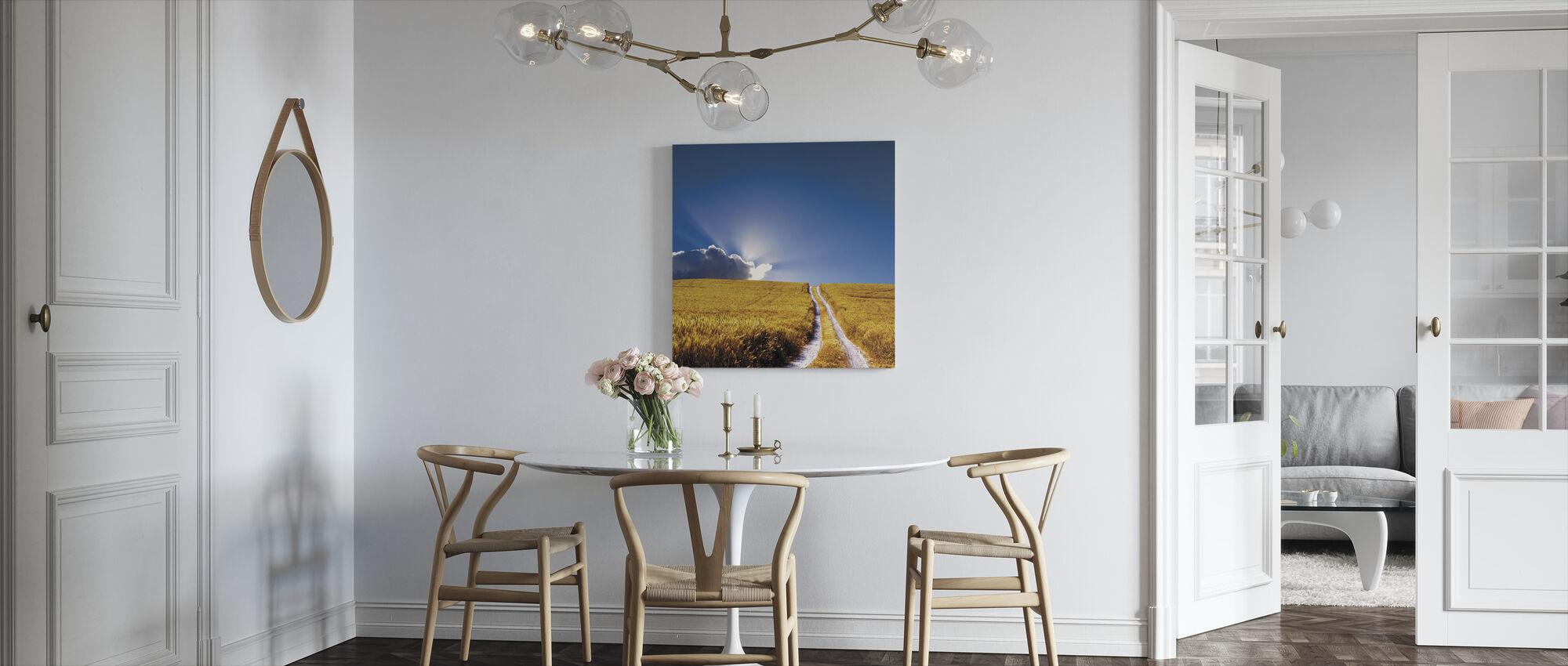 Landscape View - Canvas print - Kitchen