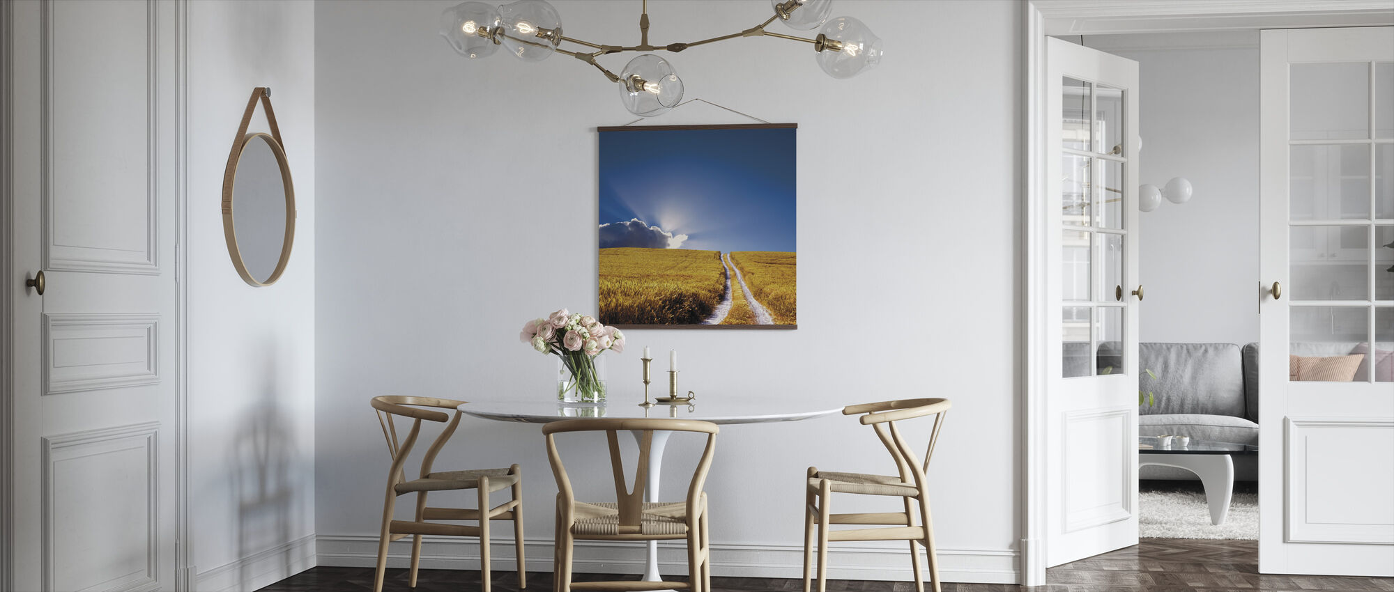 Landscape View - Poster - Kitchen
