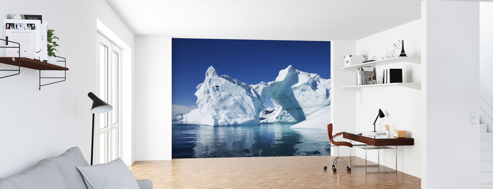 Iceberg Antarctica - Wallpaper - Office