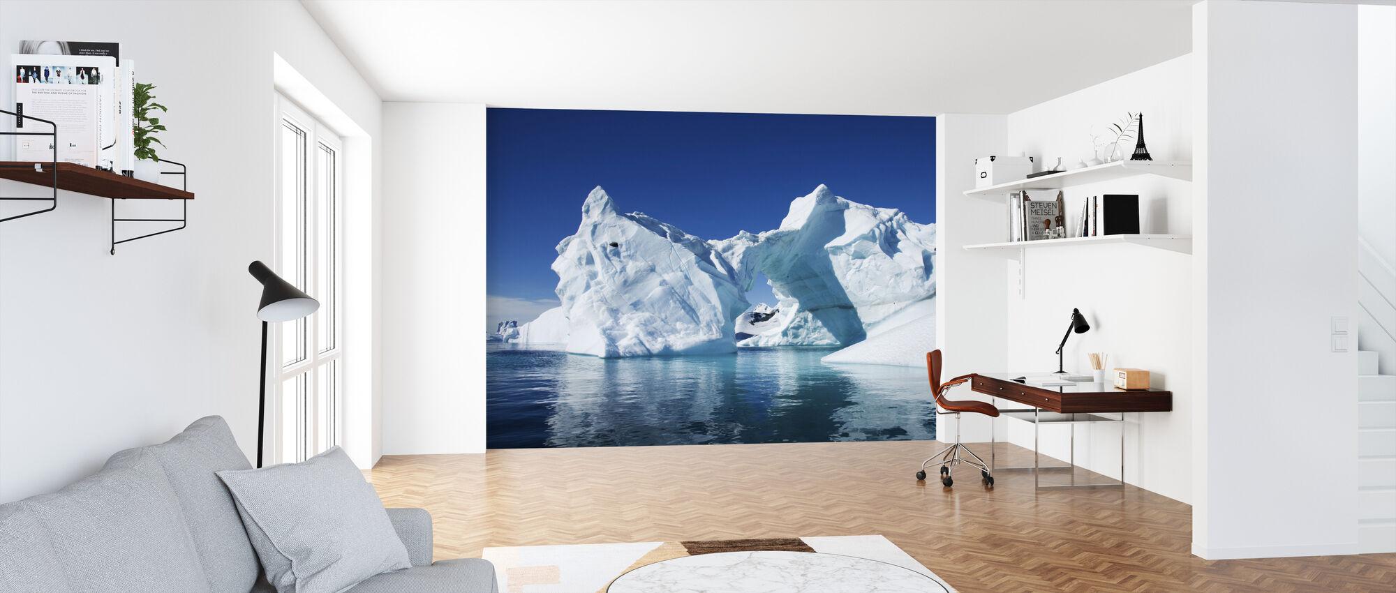 Isberg Antarktis - Tapet - Kontor