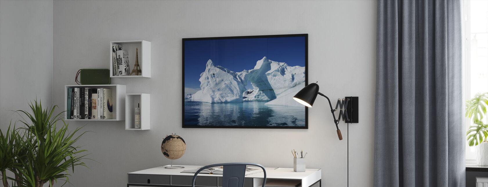 Iceberg Antarctica - Framed print - Office