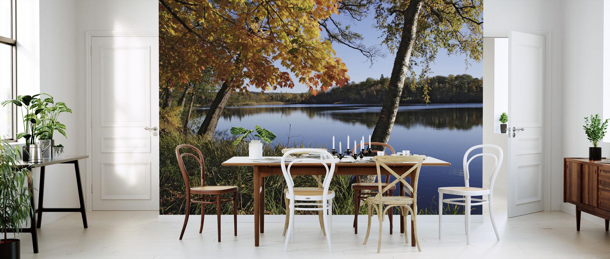 Autumn Lake - Wallpaper - Kitchen