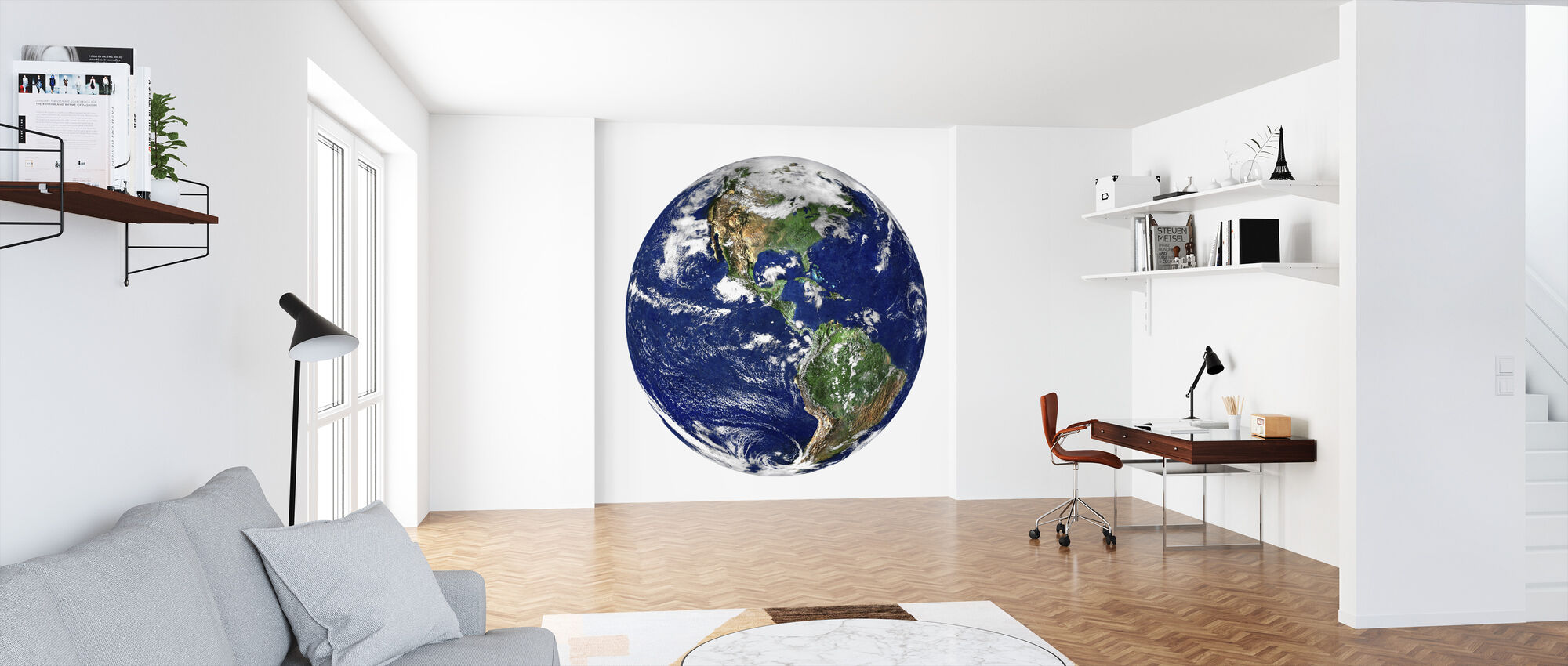 Globe - Wallpaper - Office
