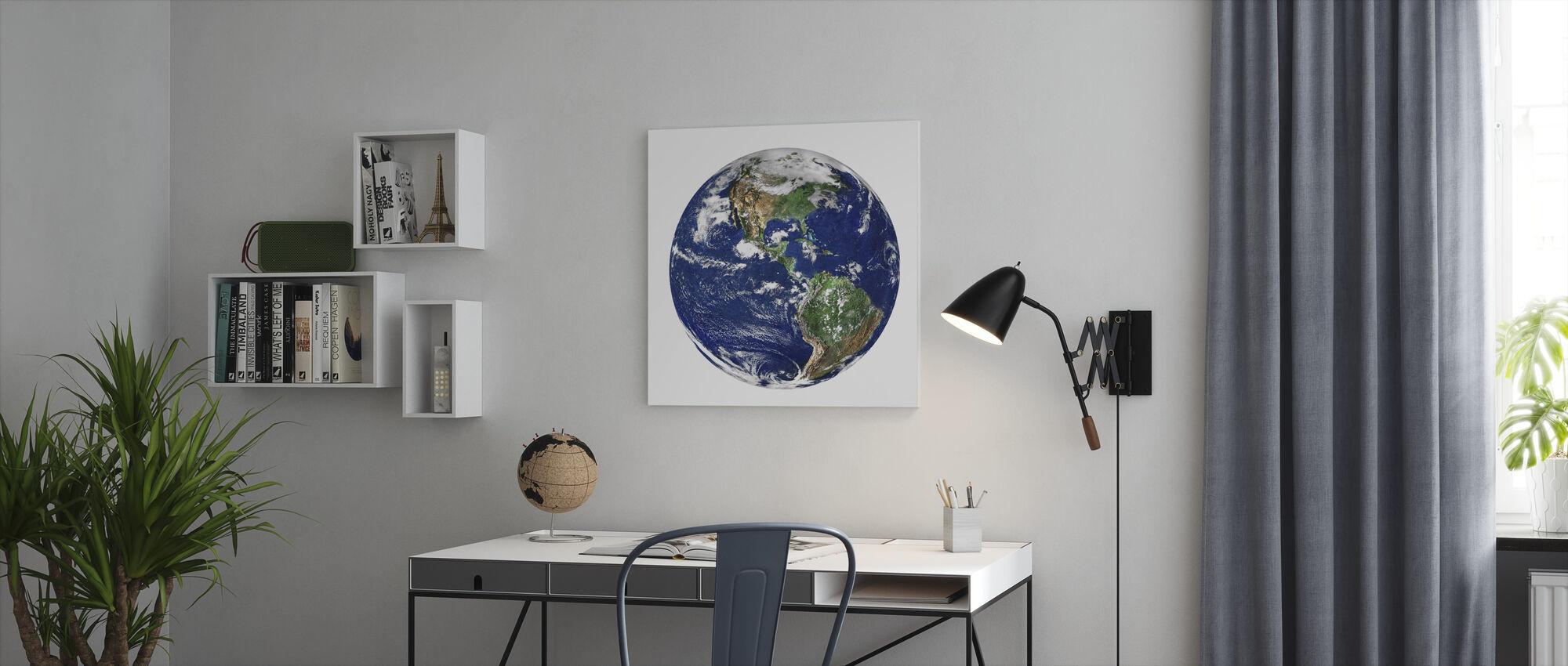 Globe - Canvas print - Office