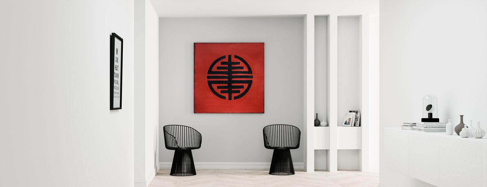 Symbol for frihet - Lerretsbilde - Gang