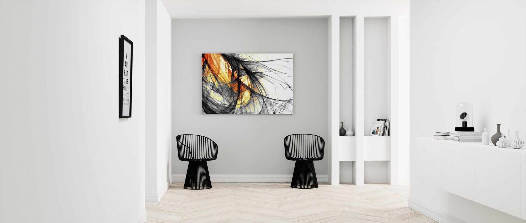 Lumière intérieure - Impression sur toile - Entrée