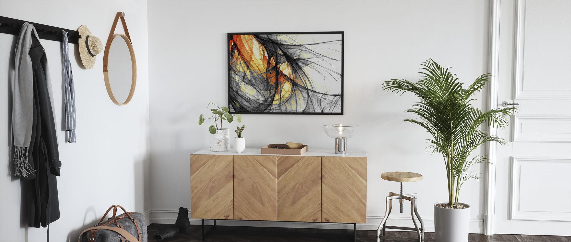 Inner Light - Framed print - Hallway
