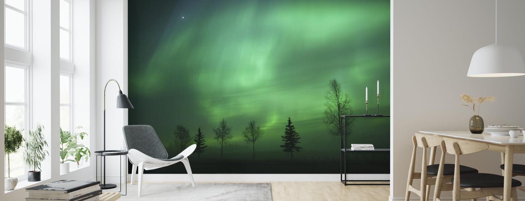 Nordisk lys - Tapet - Stue