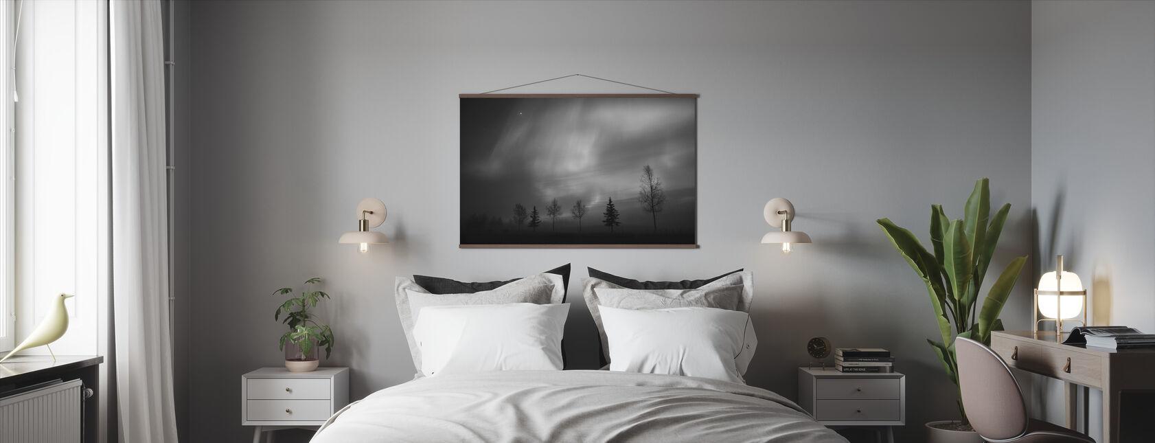 Nordic Lights - Poster - Bedroom