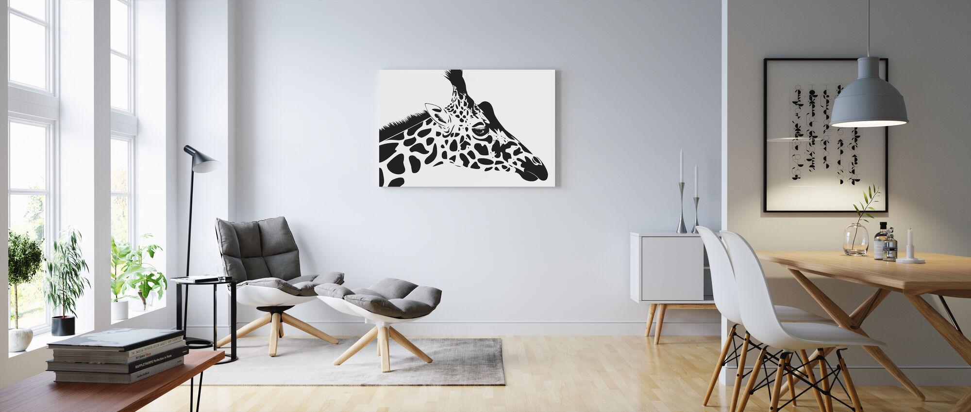 Giraffe - Canvas print - Living Room