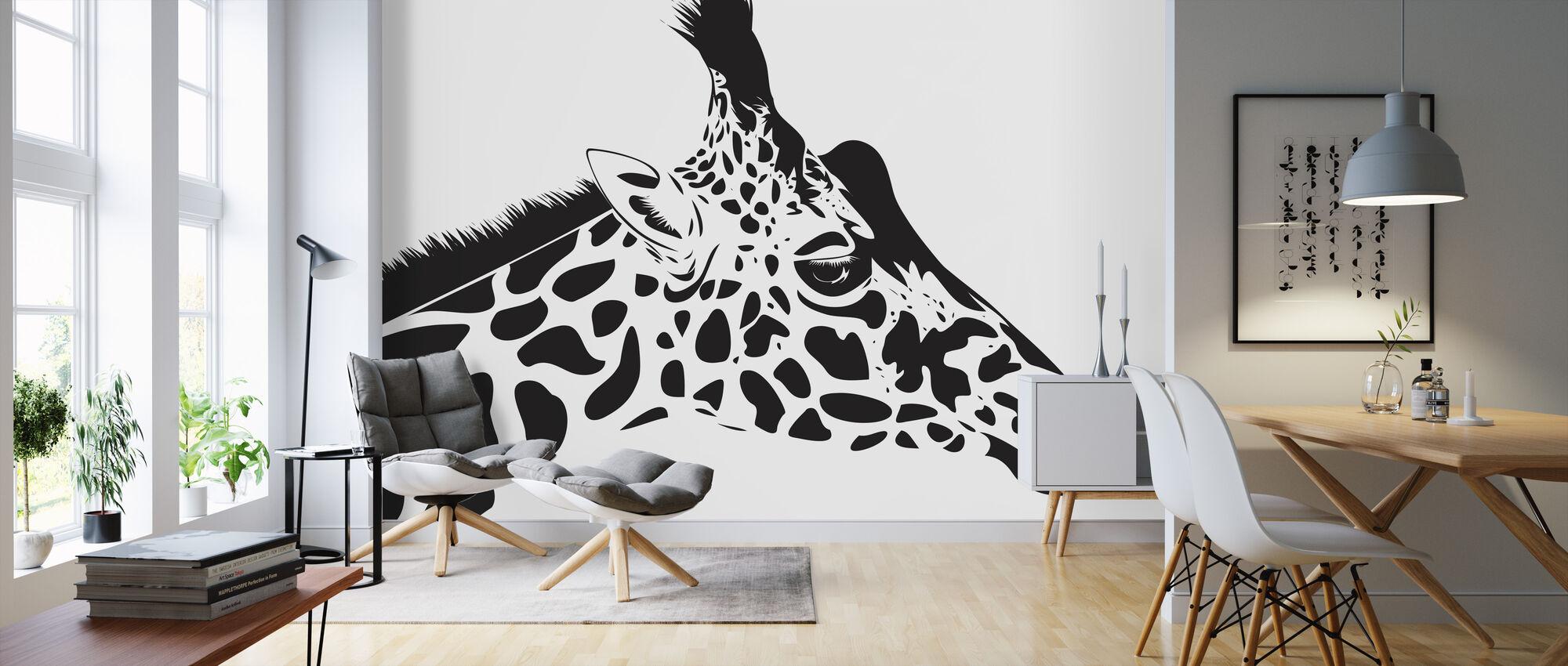 Giraffe - Wallpaper - Living Room