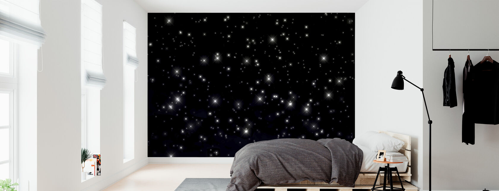 Starry Space - Wallpaper - Bedroom