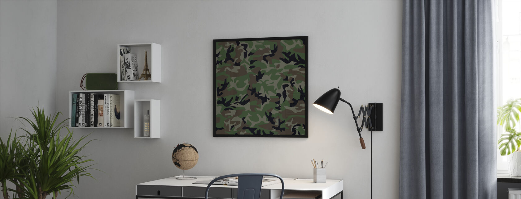 Camouflage - Framed print - Office