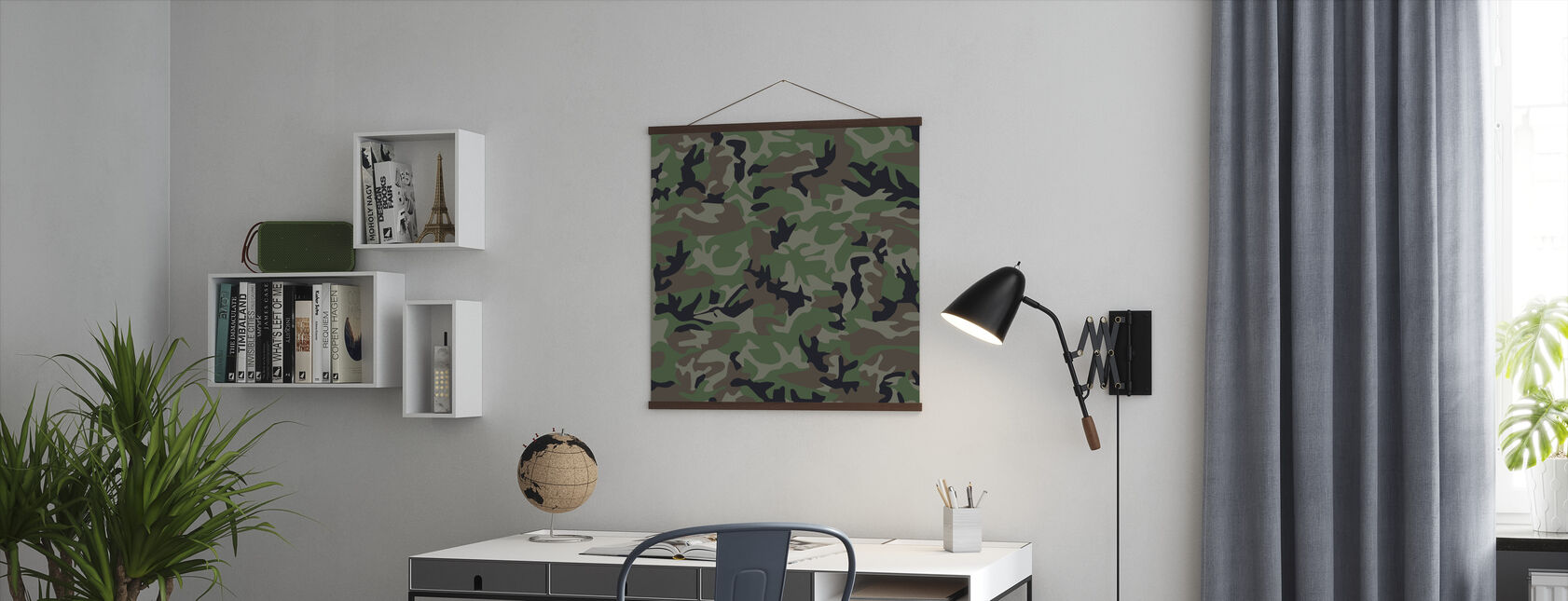 Camouflage - Poster - Office