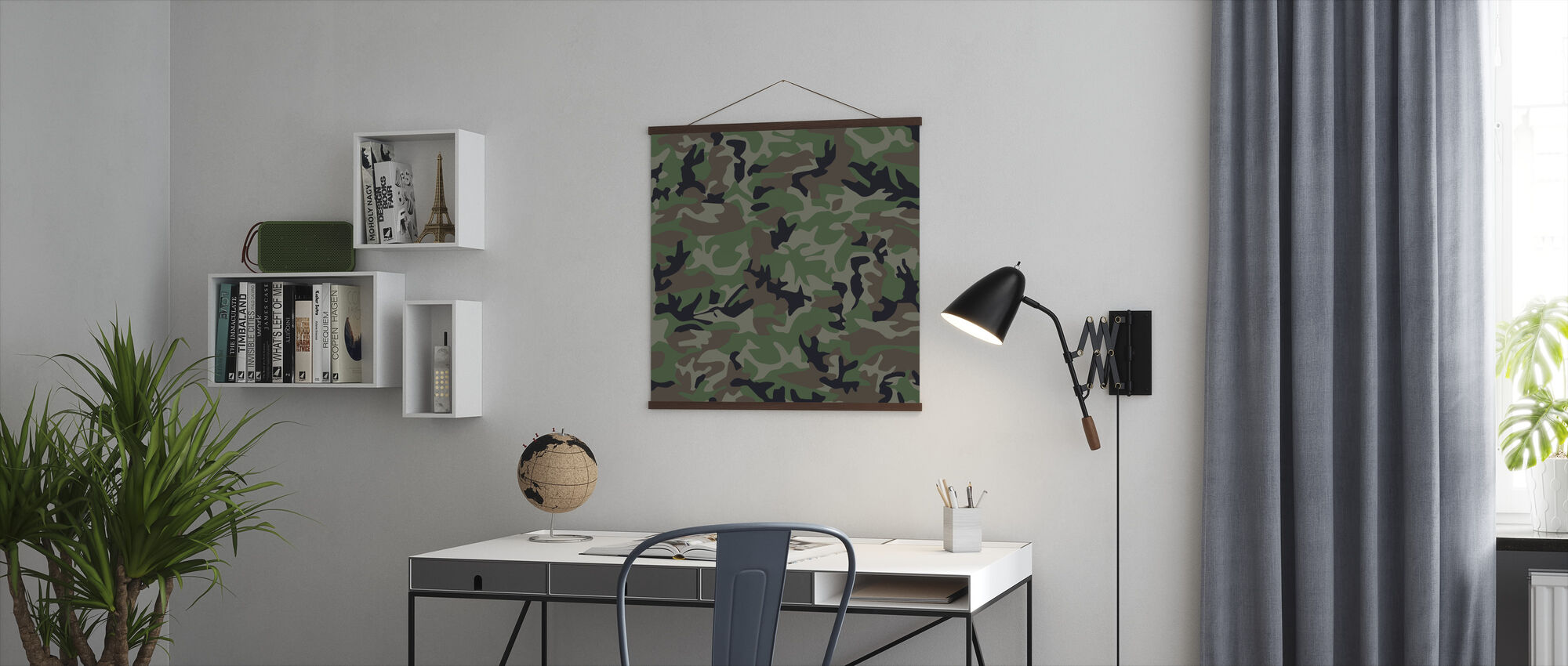 Camouflage - Poster - Kantoor