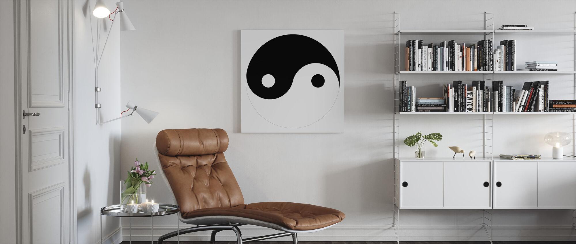 Yin-Yang - Canvas print - Woonkamer