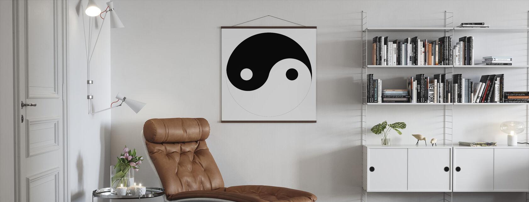 Yin-Yang - Poster - Living Room