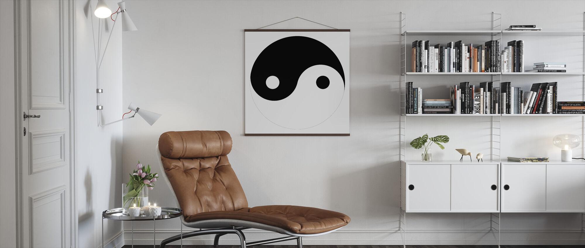 Yin-Yang - Poster - Vardagsrum