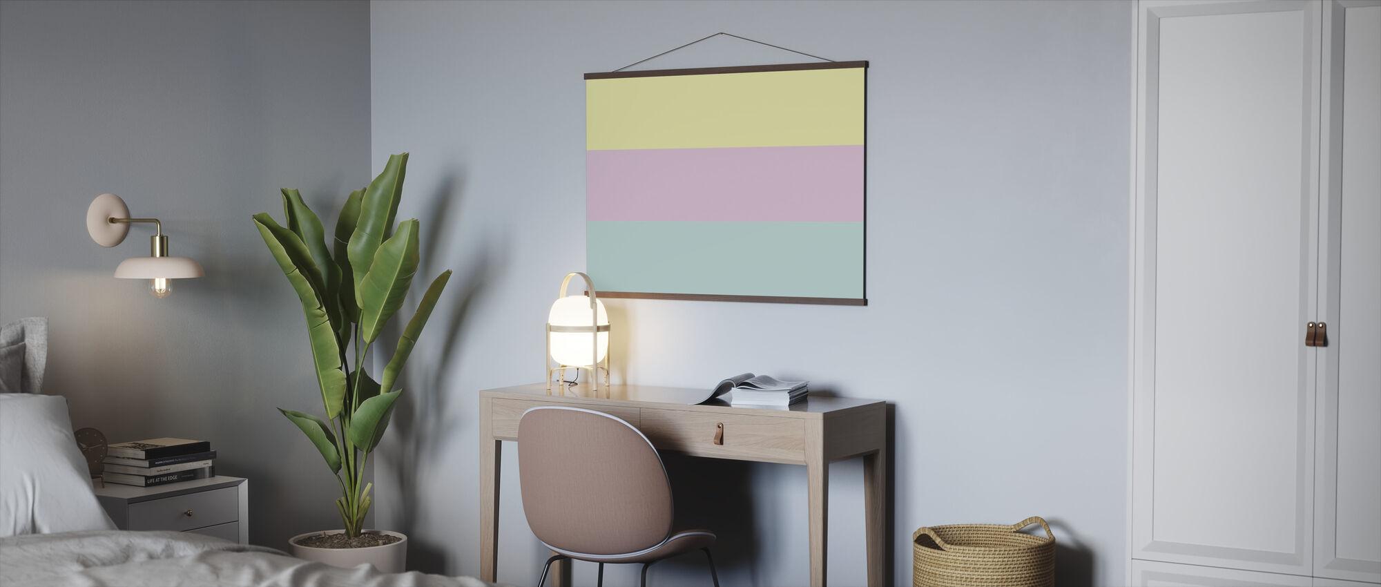 Pastell - Poster - Kantoor