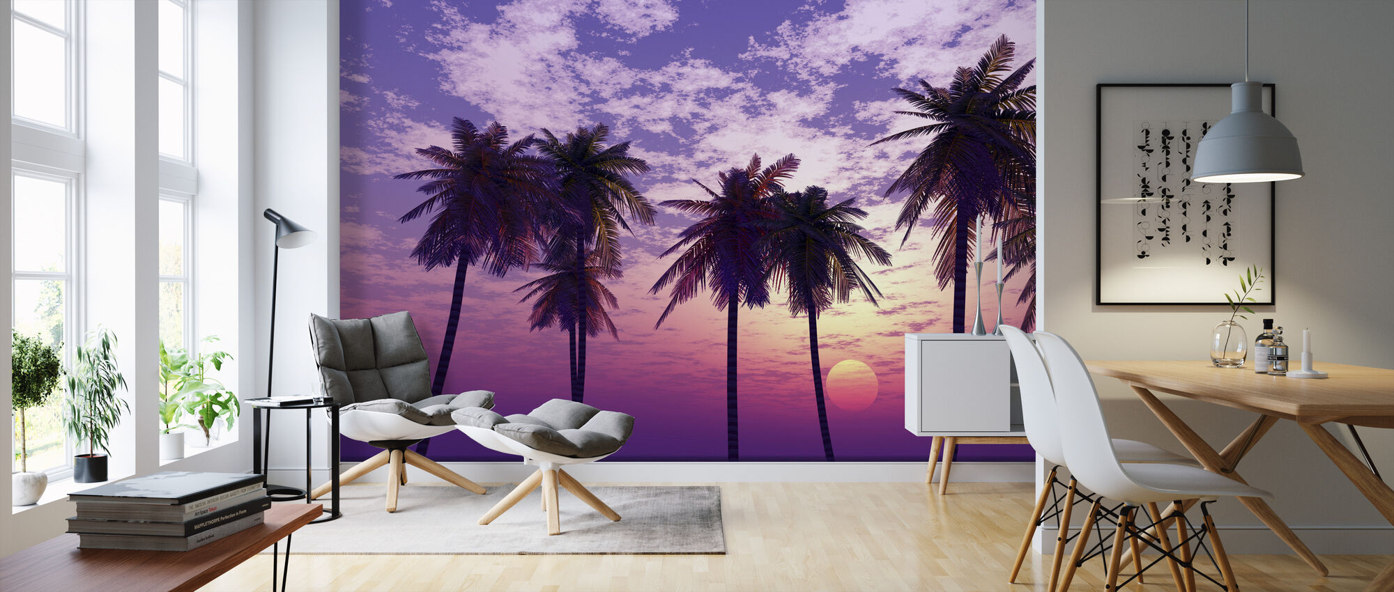 Beautiful Sunset - Wallpaper - Living Room